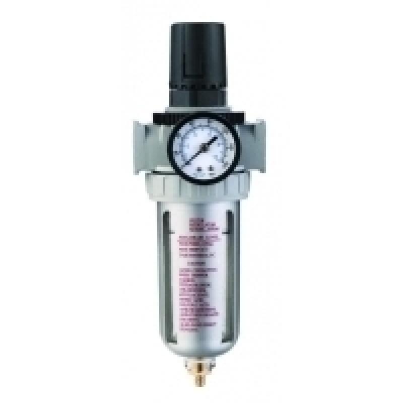 Voylet Фильтр-влагоотделитель с манометром и регулятором давления AFR-80