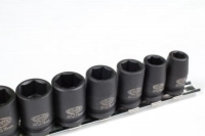 """Набор ударных головок глубоких 3/8"""" 12 пр., 8-22 мм на линейке ASA-32001"""