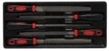 Набор напильников разнопрофильных Partner PA-T5056(т) 5пр. в лотке