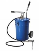 Емкость для нагнетания густой смазки 20л с ручным насосом Partner PA-1001