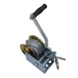 Лебедка ручная Partner PA-6729, барабанного типа, стальной трос, 540 кг, 4.5 ммх10 м
