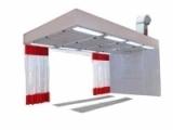 Пост подготовки к окраске с диагональным забором воздуха GL400