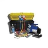 SMC-041-3 New портативное устройство для вакуумирования и заправки систем кондиционирования (сельхозтехники и автобусов)