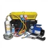 Портативное устройство для вакуумирования и заправки систем кондиционирования SMC-042-1+