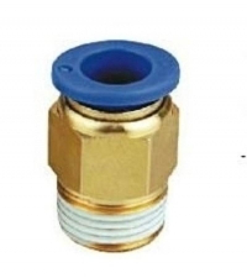"""Фитинг Partner для пластиковых трубок 4мм с наружной резьбой 1/4"""" SPC04-02"""