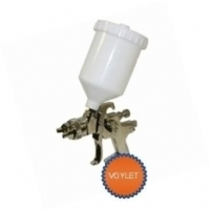 Краскопульт VOYLET HVLP H-827 1,7 мм верхний бачок 600 мл