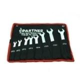 Набор ключей рожковых Partner PA-1008M 8 предметов на полотне (8х10-22х24мм)