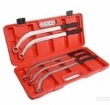 Набор ключей накидных удлиненных изогнутых Partner PA-NA1017 (L-470мм; 13,15, 16, 17, 19мм) 5пр.