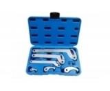 Набор ключей Partner PA-NA1012 для шлицевых гаек, 8пр. (35 - 120мм)