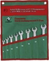 НАБОР КОМБИНИРОВАННЫХ ГАЕЧНЫХ КЛЮЧЕЙ СТАНКОИМПОРТ, НКК.11.30.8