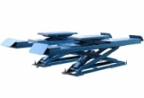 TS-1107 Ножничный, электрогид. заглубляемый, для сход-развальных работ, г/п 3,5т, длина трапов 4,5м.