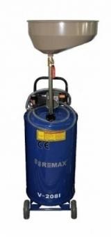 Предкамера (колба) для уфУстановка маслосборная REMAX V-2081, бак 65л, воронкастановки V-2097