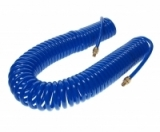 JTC-5548 Шланг спиральный воздушный вн. диаметр 8 мм, внеш. диаметр 12 мм, длина 15 м, разъемы 1/4 (