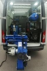 Комплект TS-26I Станок для мобильного грузового шиномонтажа+TS-850 Балансировочный станок 380V