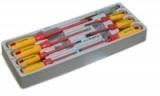 Набор отвёрток RF-20814: диэлектрических (PH 0,1,2.SL 2.5,4,5.5,6.5) 8пр. ROCKFORCE /1/40 NEW