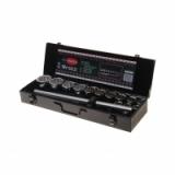 """Набор инструмента RF-6161-9: 3/4""""DR 12-гранный 16пр. (метал. кейс) ROCKFORCE /1/3"""