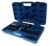 Набор для снятия дизельных форсунок RF-915G5 Bosch, Delphi, Denso, Siemens (размеры головок: 25, 27, 29, 30мм,)14пр., в кейсе ROCKFORCE /1