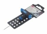 Ключ RF-76502G Т-образный 6-гранный с шаром и прорезиненной рукояткой H2x75мм, на пластиковом держателе  ROCKFORCE /1
