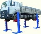 Передвижной подъемник для грузовых автомобилей ПП-10 по ТЗ